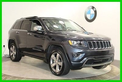 2015 Jeep Grand Cherokee Limited NAVIGATION SYSTEM REAR VIEW CAMERA