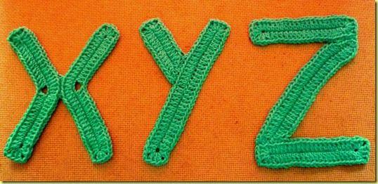 Het Alfabet Compleet Crochet Pinterest Alfabet