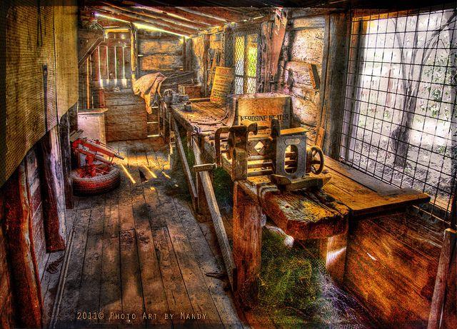 The old workshop   Workshops   Woodworking workshop