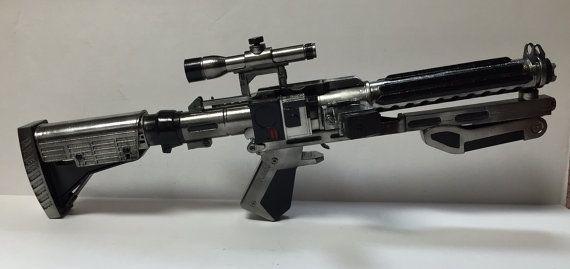 Star Wars Blaster Captain Phasma F-11D First Order Stormtrooper Cosplay Gun Prop…