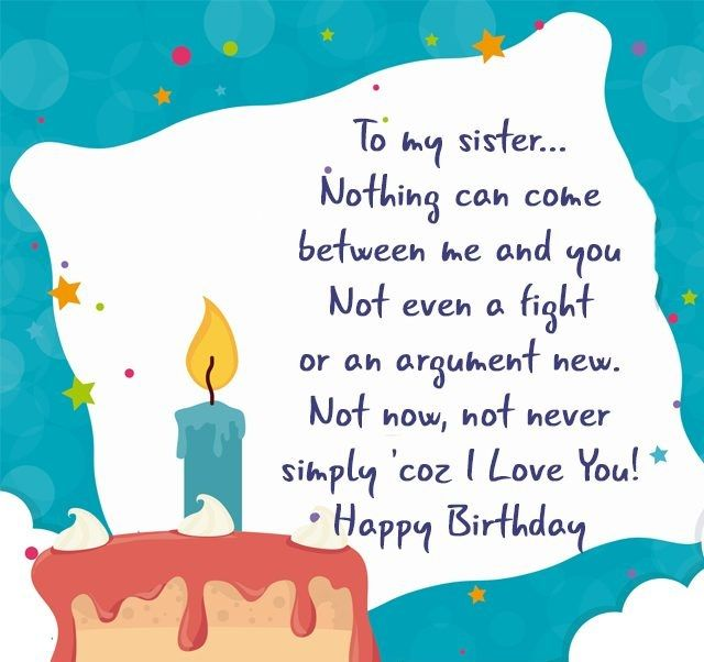 Happy Birthday Sister Quotes New Birthday Quotes For Sister  My Board  Pinterest  Happy Birthday