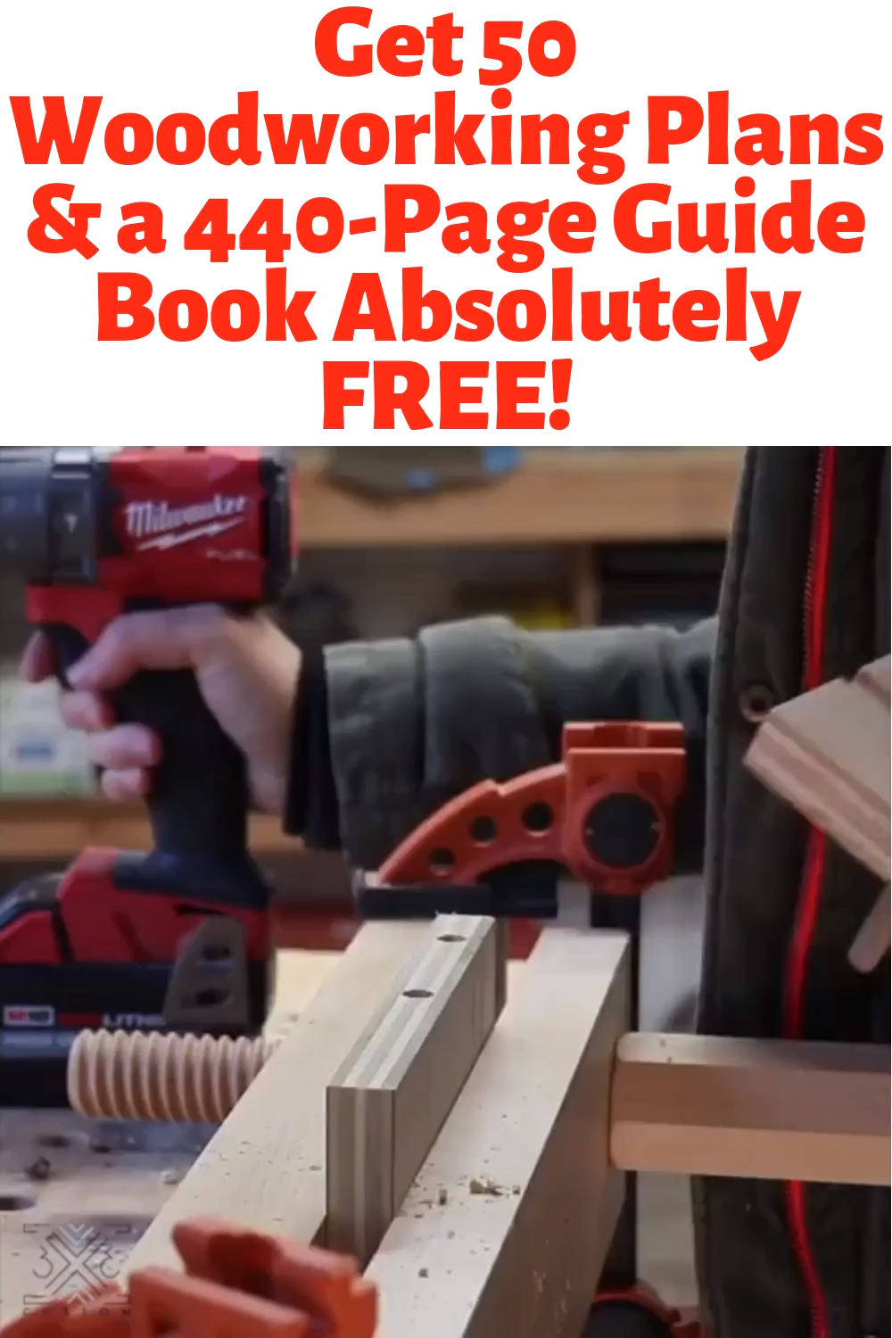 Photo of Get 50 Woodworking Plans & a 440-Page Guide Book Absolutely …