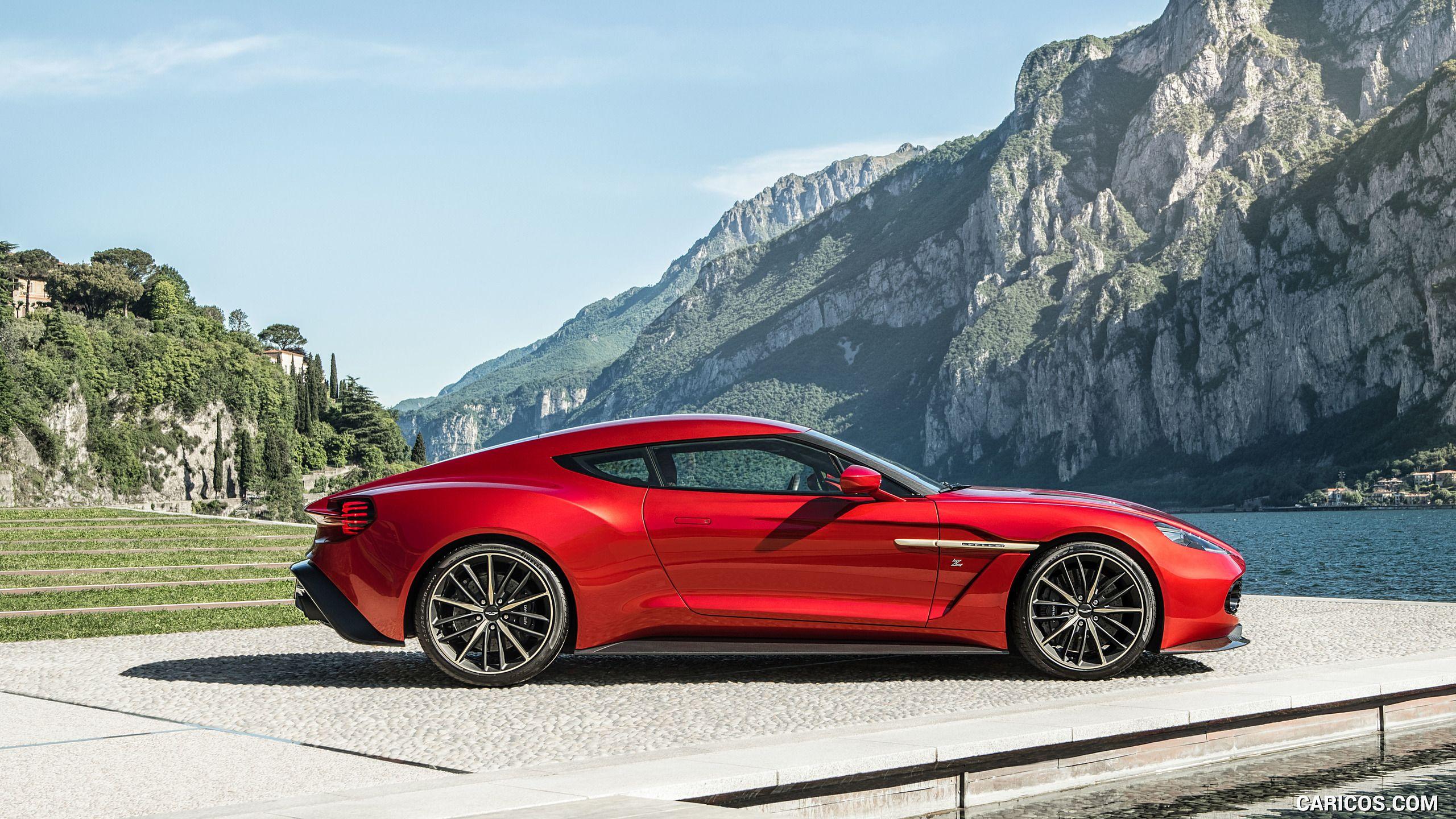 2016 Aston Martin Vanquish Zagato Concept Side HD