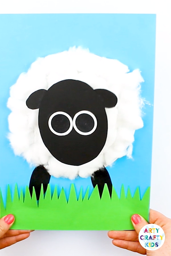 3D Spring Lamb Craft