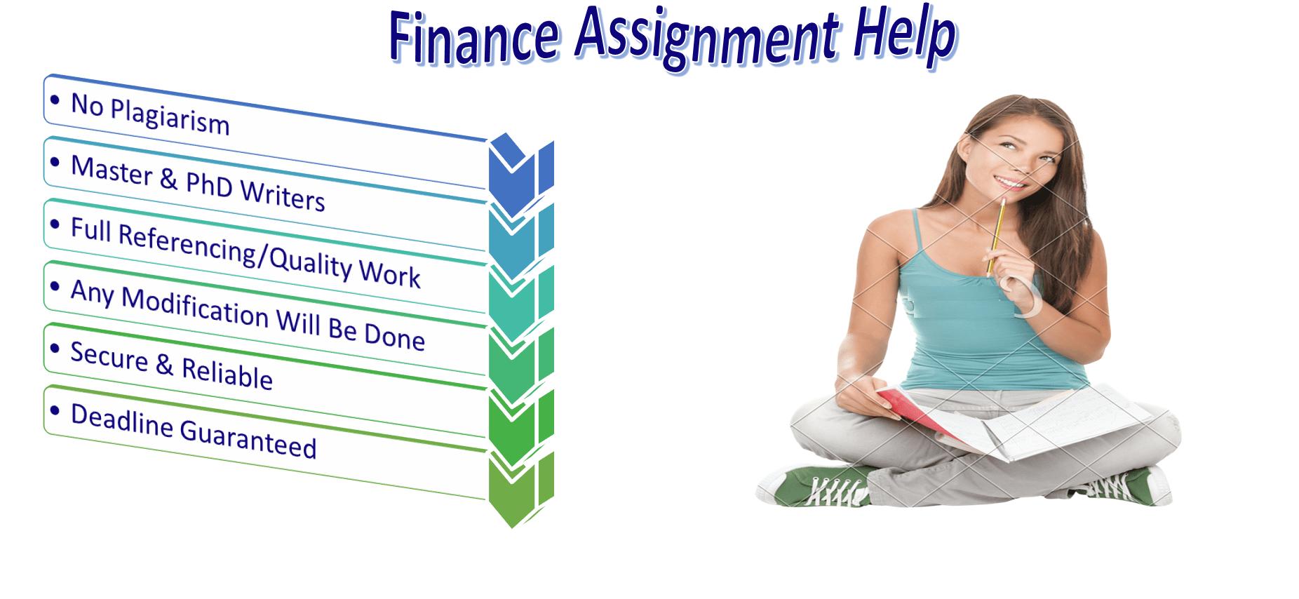 Finance Homework help online in usa main purpose of