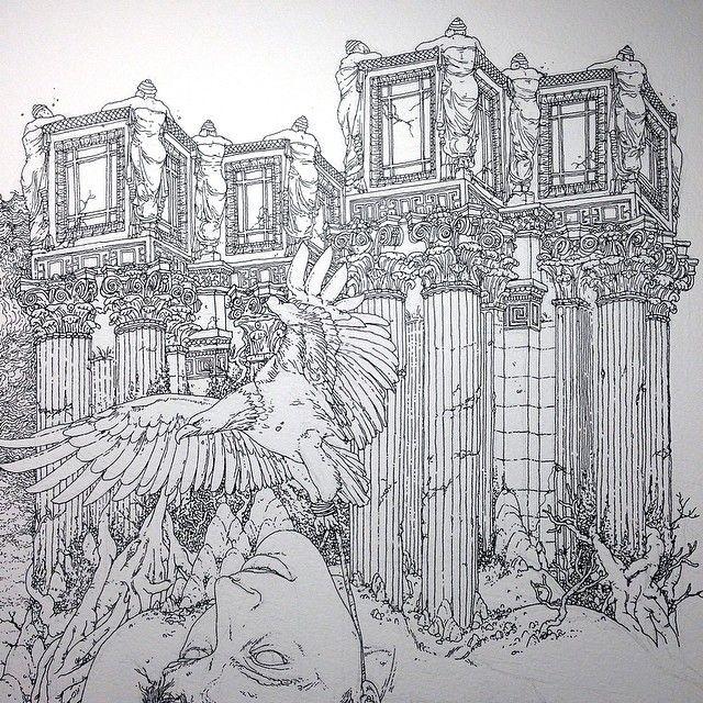 drawing details before shading drawing frescofollow ugogattoni