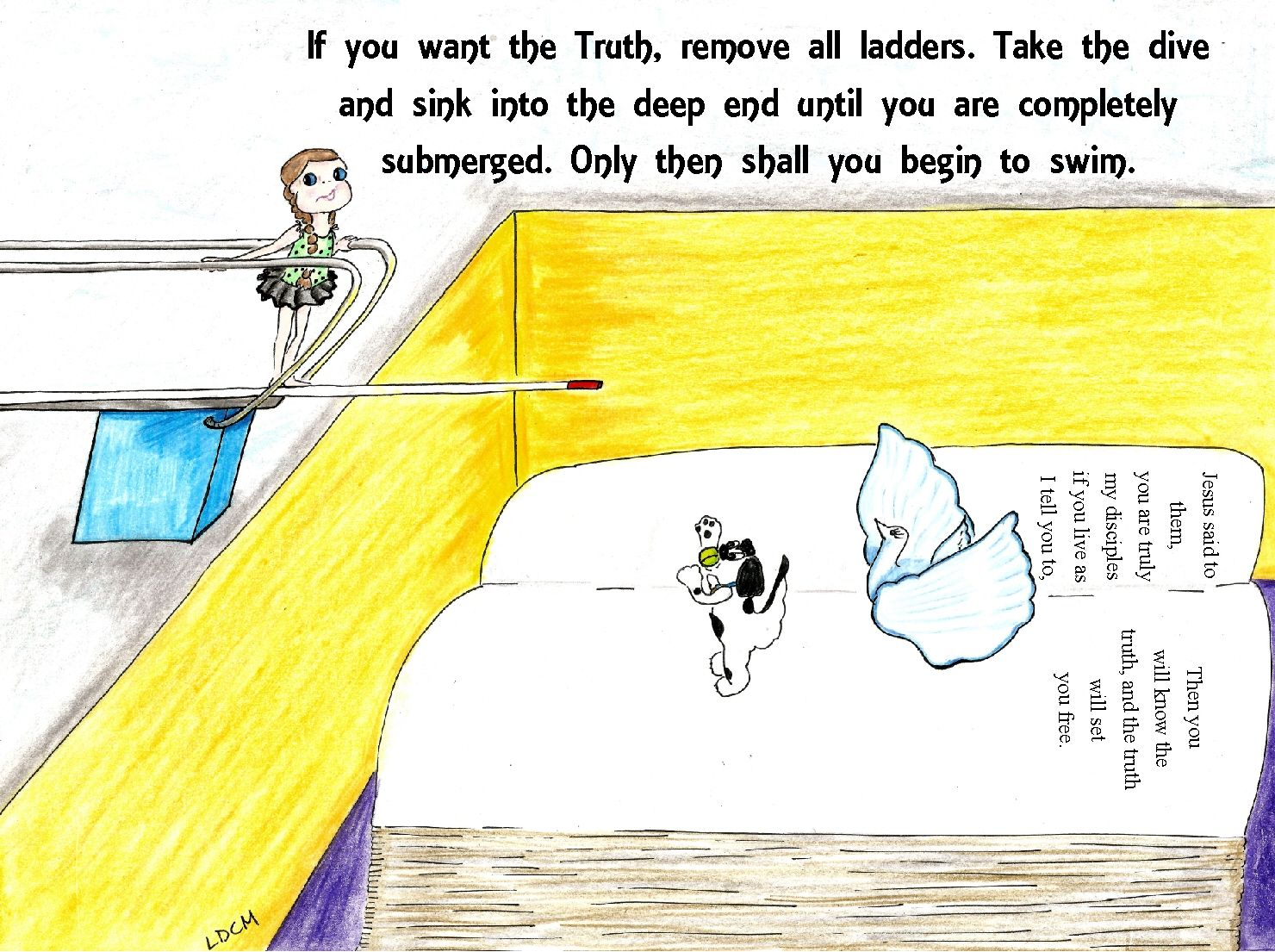 the Truth shall set you free | Jesus quotes, Truth, Set ...