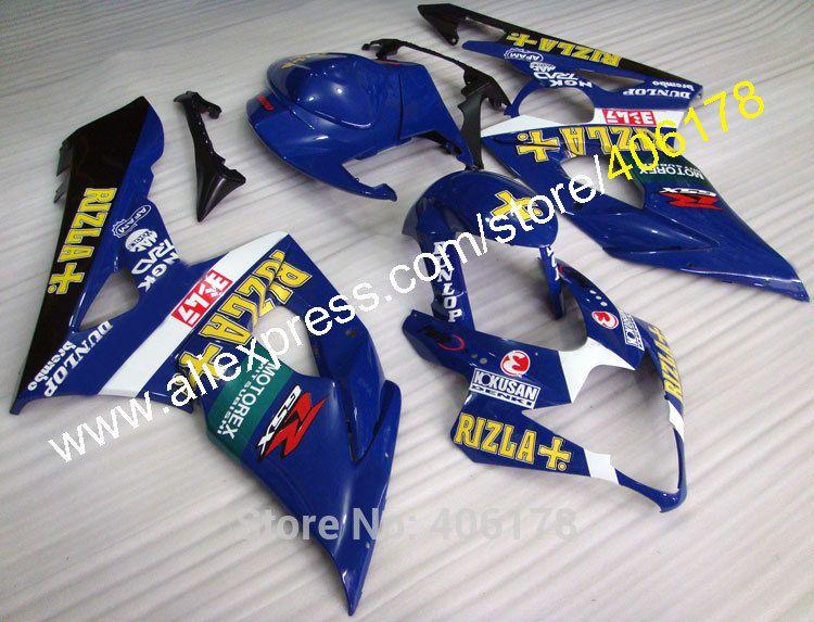 Hot Sales For Suzuki Fairing K5 Gsxr 1000 05 06 Gsxr1000 Gsx R1000 Rizla Gsx R1000 K5 Moto Body Kit Injection Molding Body Kit Gsxr 1000 Gsx