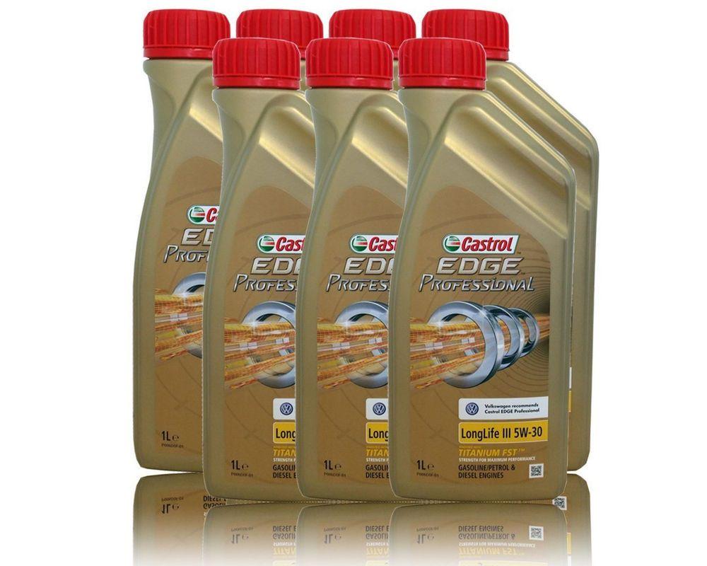 Castrol Edge 5w 30 Professional Long Life Iii 7l Bundle Ebay Edges My Ebay