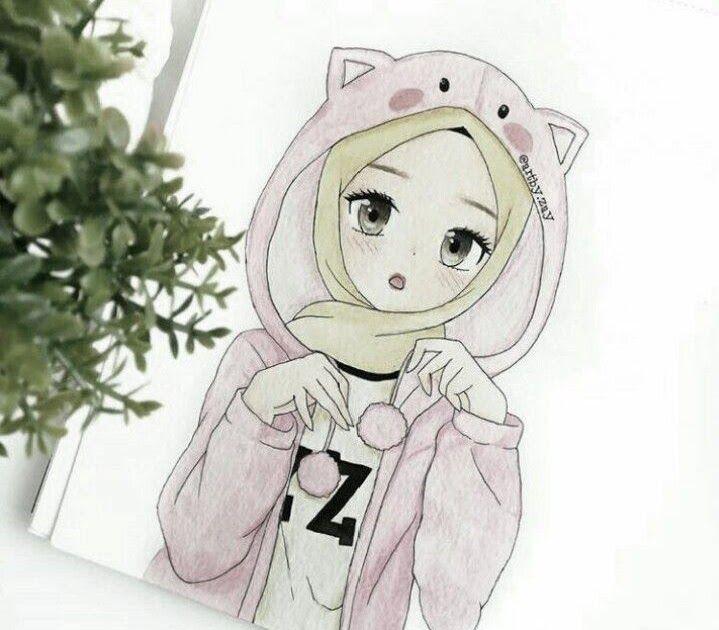 20 Gambar Kartun Perempuan Tomboy Berhijab Pin Oleh Ayat Atallah Di Hijab Cartoon Chibi Animasi Dan Kartun Kumpulan Gambar Fan A Gambar Kartun Gambar Kartun Cool tomboy hijab anime wallpaper
