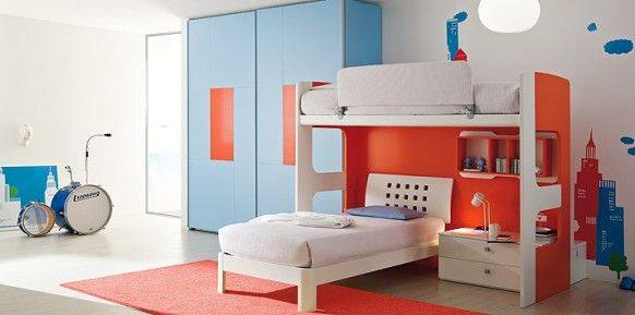 Beautiful Colorful And Creative Teenagers` Rooms From Clever Design
