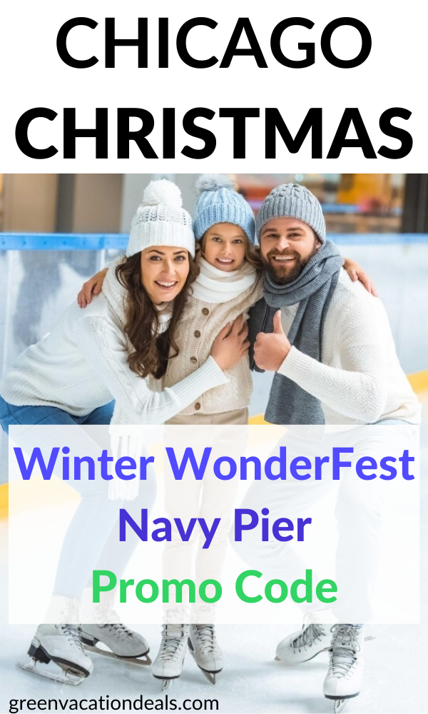Christmas Vacation Packages 2020 From Chicago Coupon code for Winter WonderFest at Navy Pier in Chicago wil