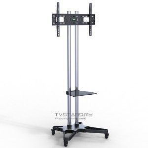 Stainless Steel Tv Stand Portable Floor Lcd Tv Stand Mount