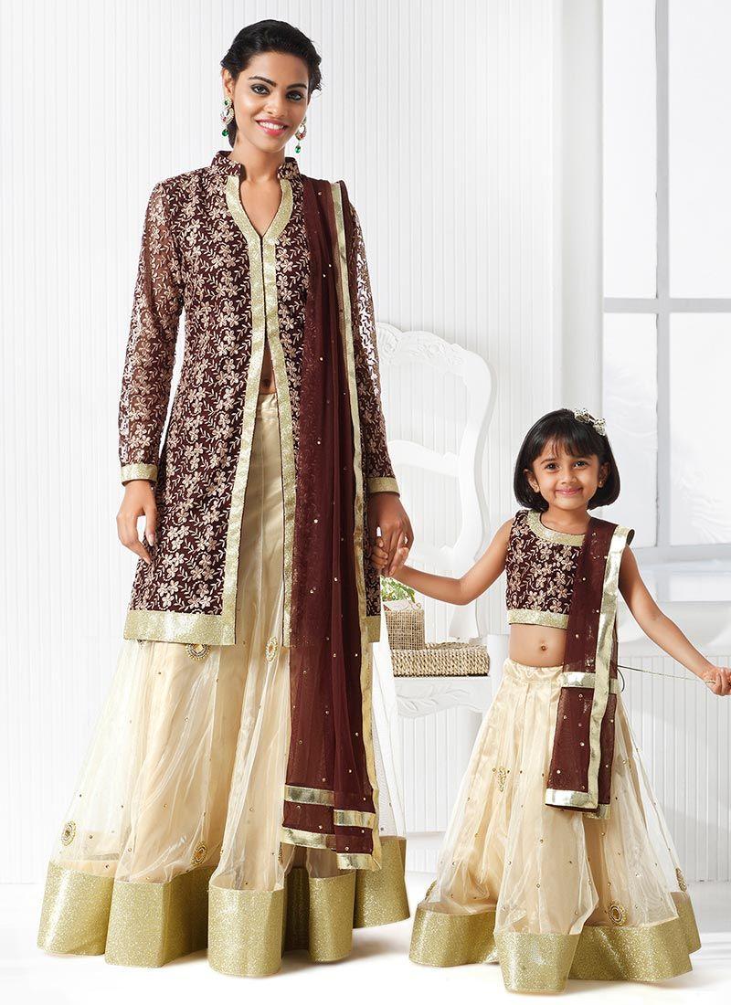 6ecbf7773c Menlo Park   Anarkali's & Dresses   Mommy daughter dresses, Mother ...