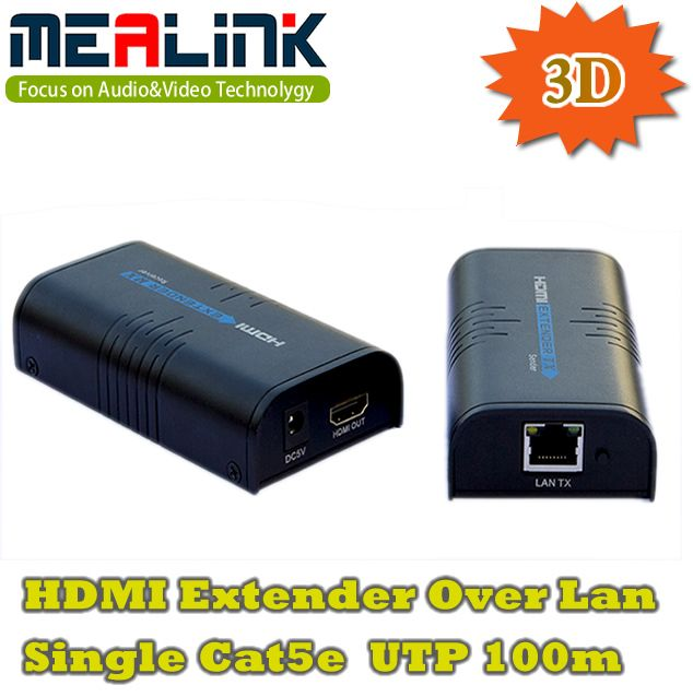 3D Over One Cat5e 100m HDMI Extender (YLC373)