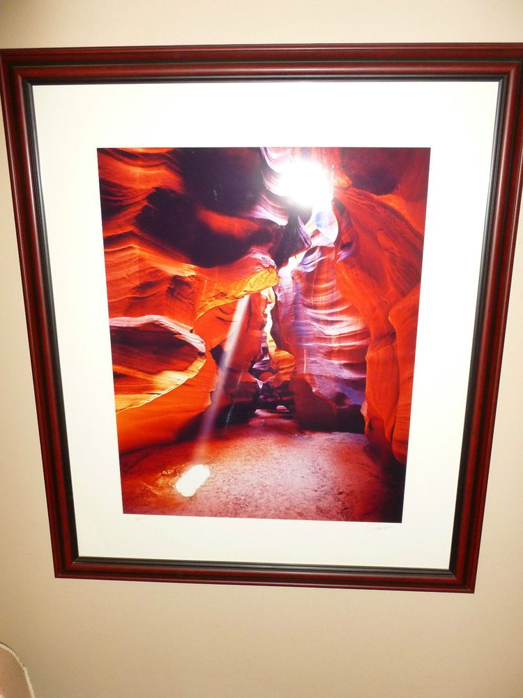 Fatali signed framed Cibachrome photograph limited edition 29\
