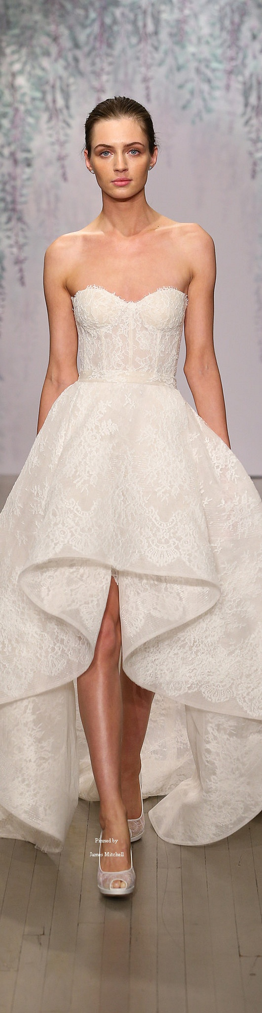 Monique lhuillier bridal collection fall bridal gowns