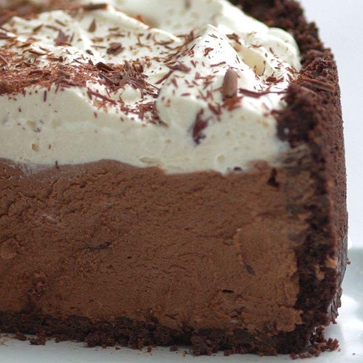 Deep-Dish Chocolate Cream Pie