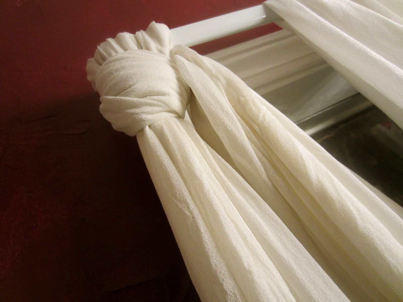 Knotted Curtains Home Decor Pinterest Window