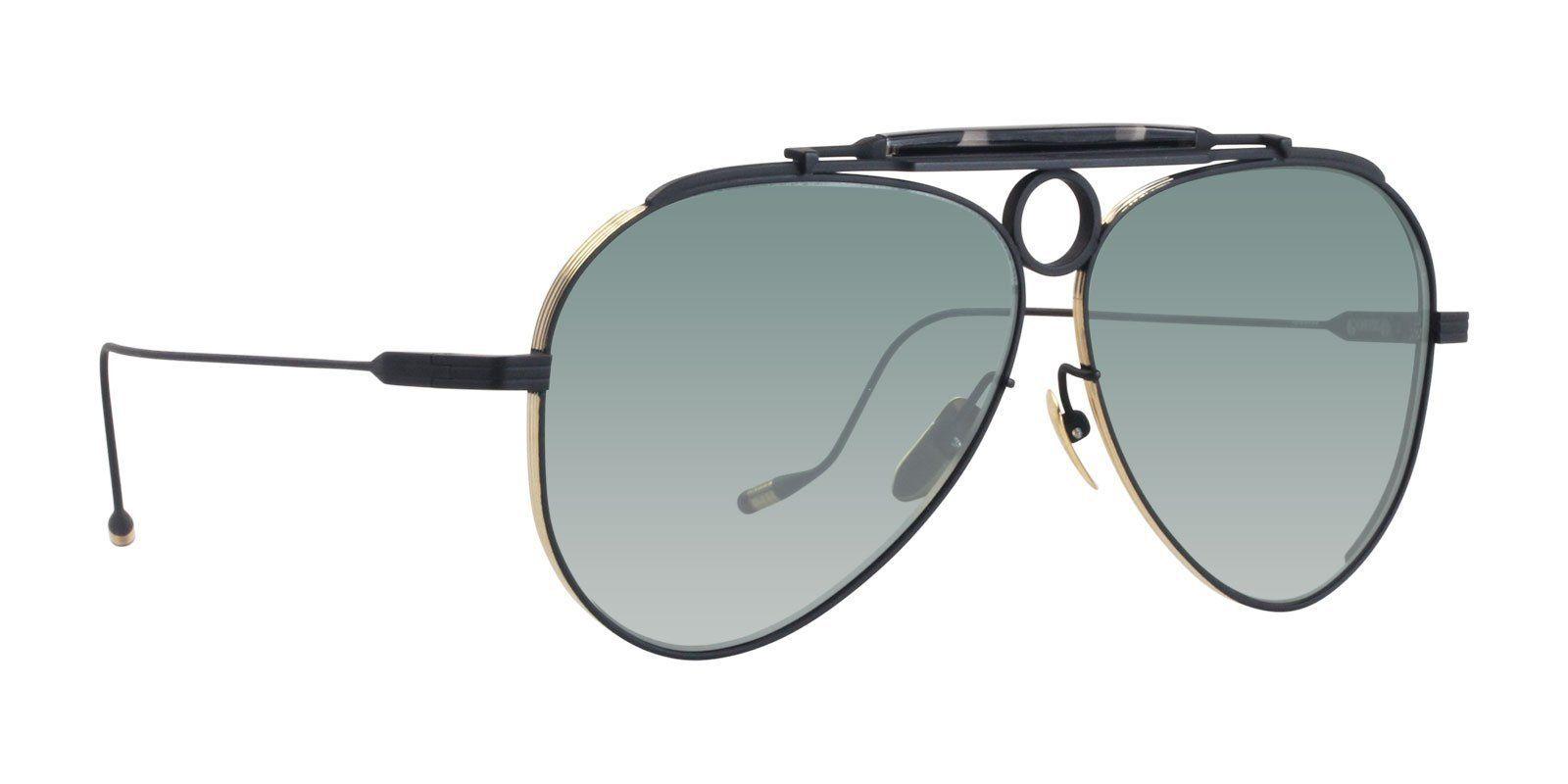 0e8d55aab6c Jacques Marie Mage - Gonzo Duke Black - Turquoise sunglasses ...