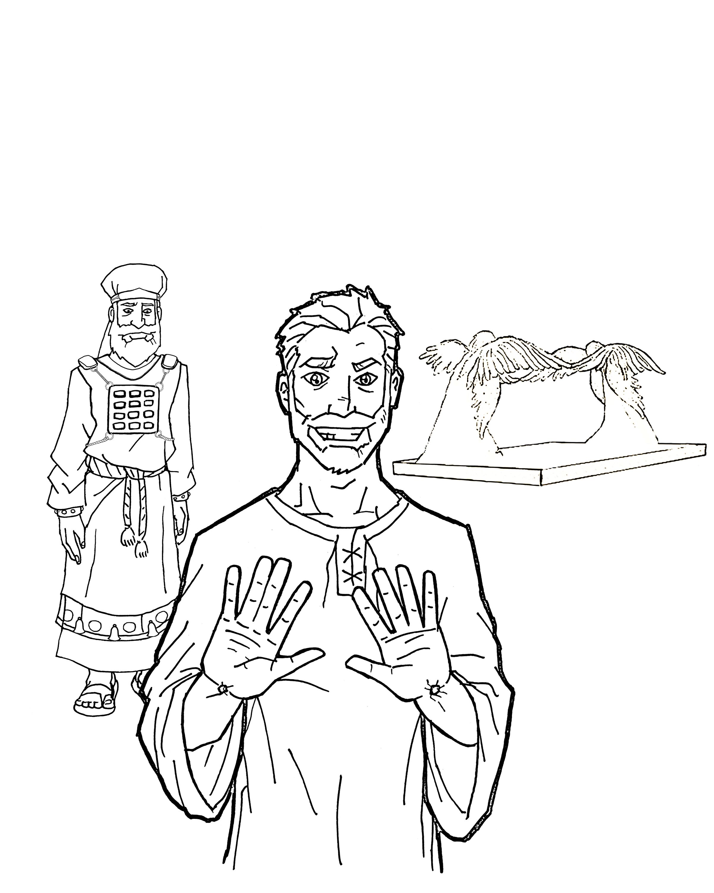 Today Jesus Is Our High Priest Coloring Books Printable