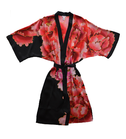 dafef8edbe Samantha Chang s handpainted silk kimonos are the lingerie of my dreams.  This is just gorgeous. WANT