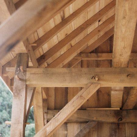 New 2 Story Timberframed Building New Stone Foundation