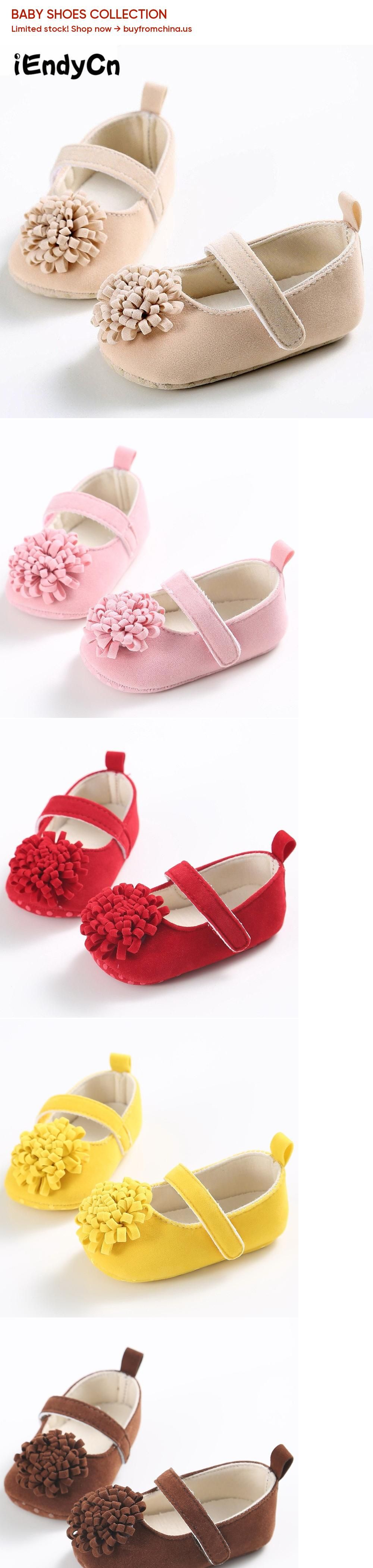 0-1 Year old Spring and Summer Autumn Female Baby Shoes Soft Bottom Flowers Princess Series Baby YD221