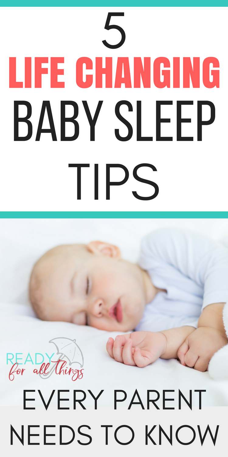 how to help your newborn baby sleep through the night | ready for
