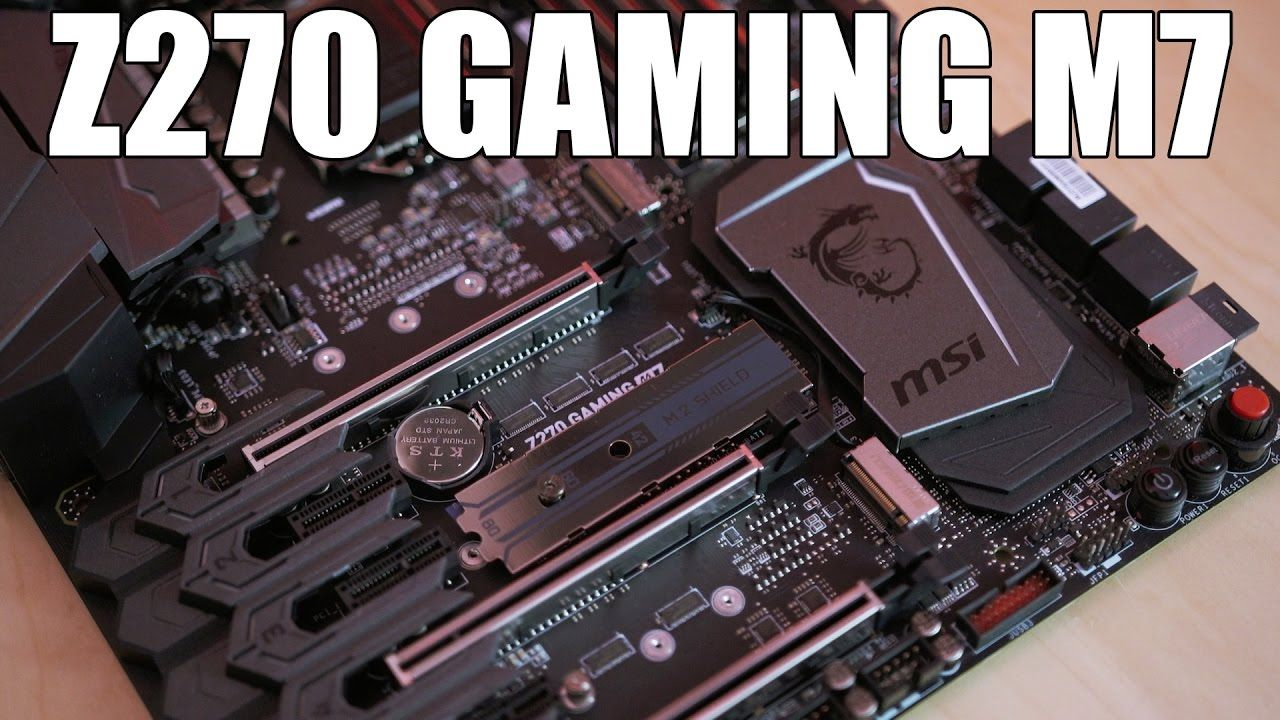 MSI Z270 Gaming M7 Review    Auto Overclocking that's GOOD?! | PC
