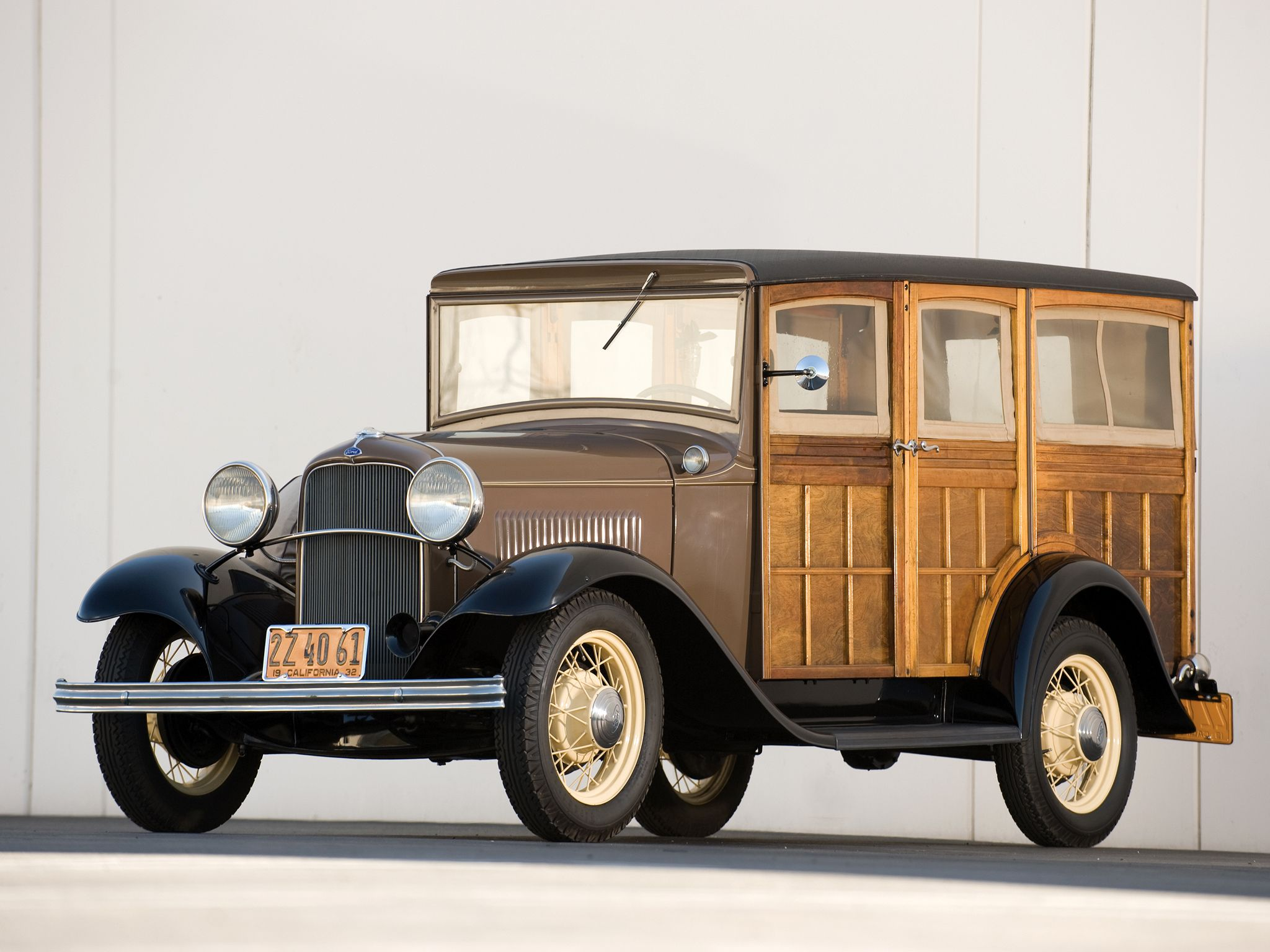 1932 Ford Model-B Station Wagon Maintenance/restoration of old ...