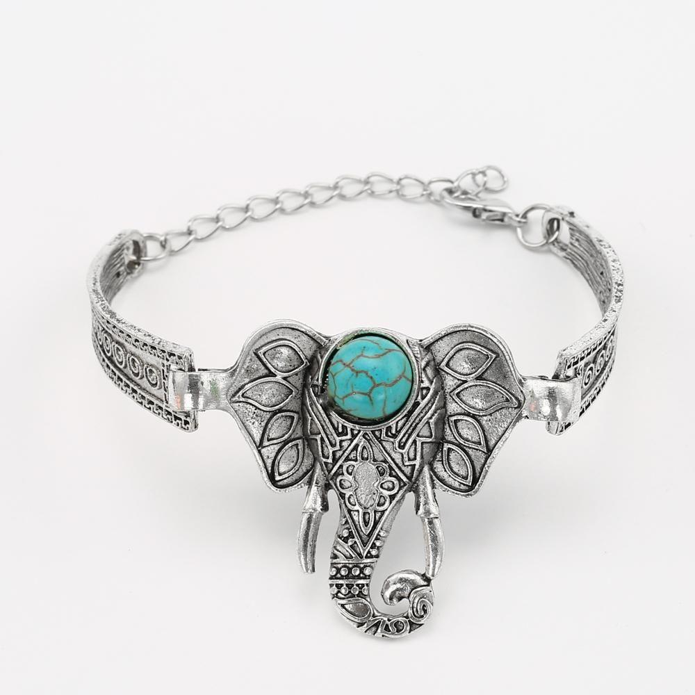 Vintage elephant bracelet for women vintage elephant elephant