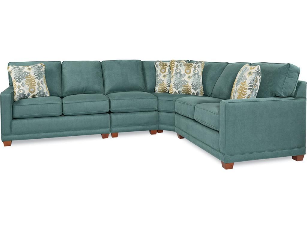 La Z Boy Living Room Kennedy Sectional 593 Sectional Small Bedroom Furniture Sectional Furniture