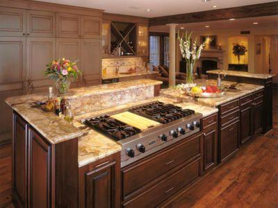 Luxurious Kitchen With a Gas Stovetop  Designers\u0027 Portfolio  HGTV