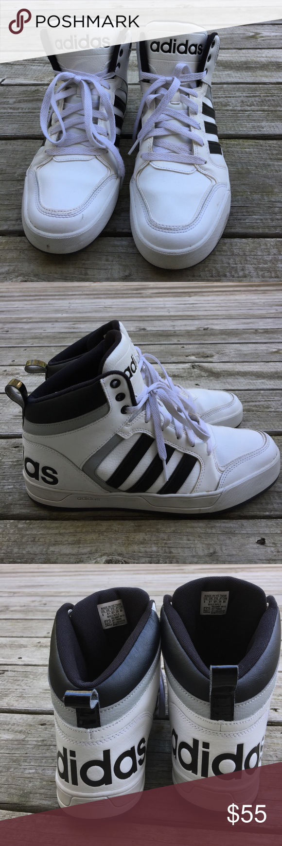 Adidas Ortholite High Top zapatilla High Top sneakers, High Tops