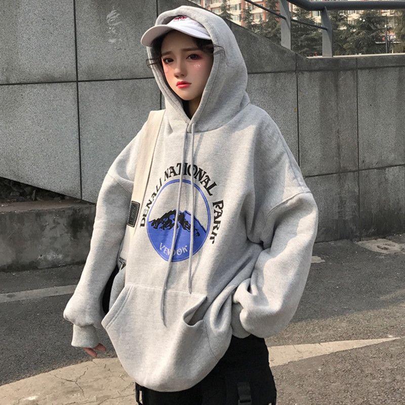 3c4ae0b0d4ebb 韓国 原宿系 ファッション レディース 長袖 パーカー カラフル ダンス 衣装 派手 カワ な 服 個性的