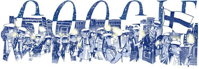 Finland's independence day 2014