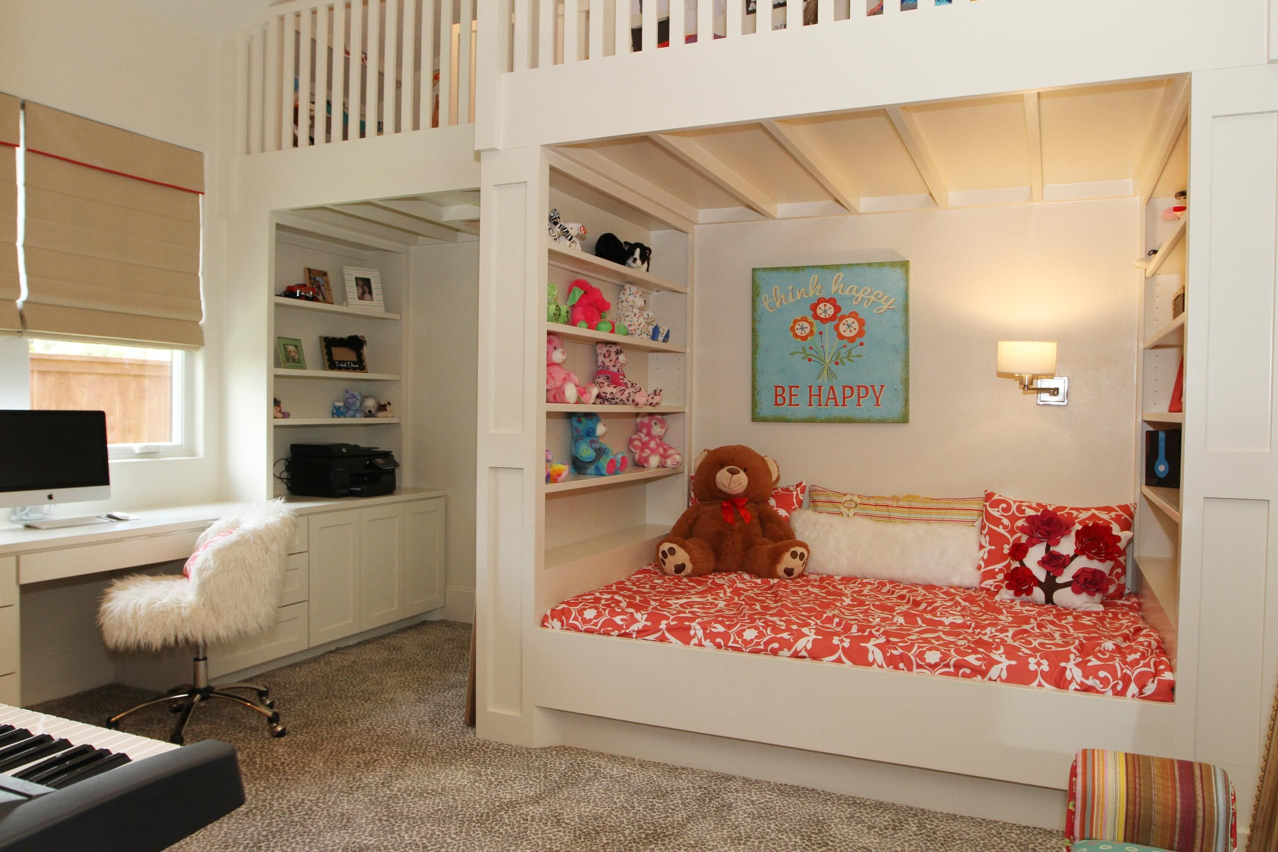 Sparkling Tween Bedroom Ideas With Chic Color Selection Bunk Bed