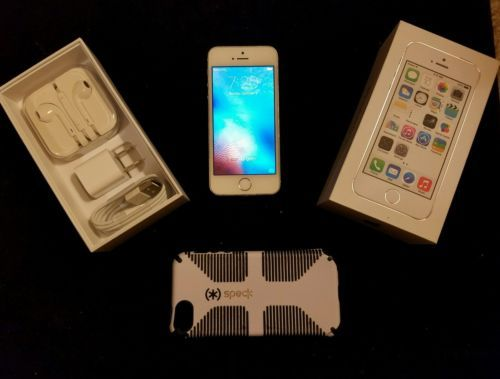 Apple iPhone 5s - 16GB - Silver (AT&T) Smartphone I phone in original box https://t.co/3wCQmh62KF https://t.co/YRPYNQ54Zg
