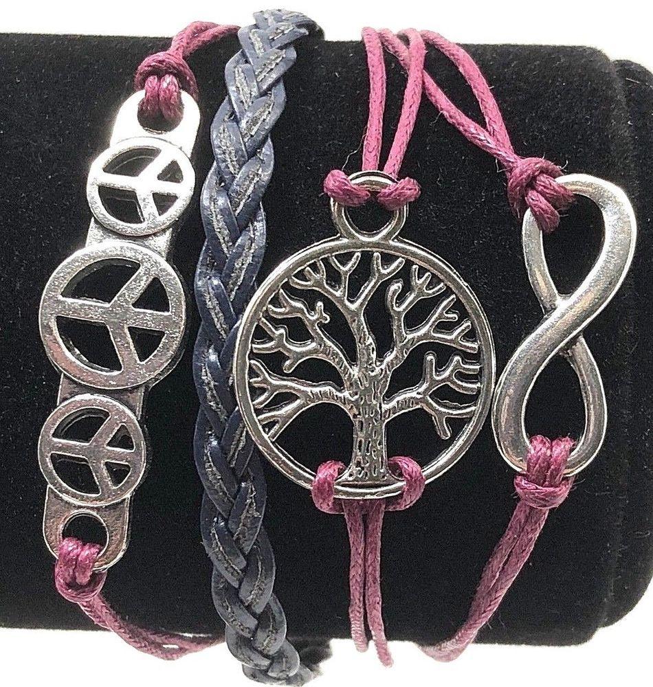 Details about friendship bracelet womens juniors girls inspirational
