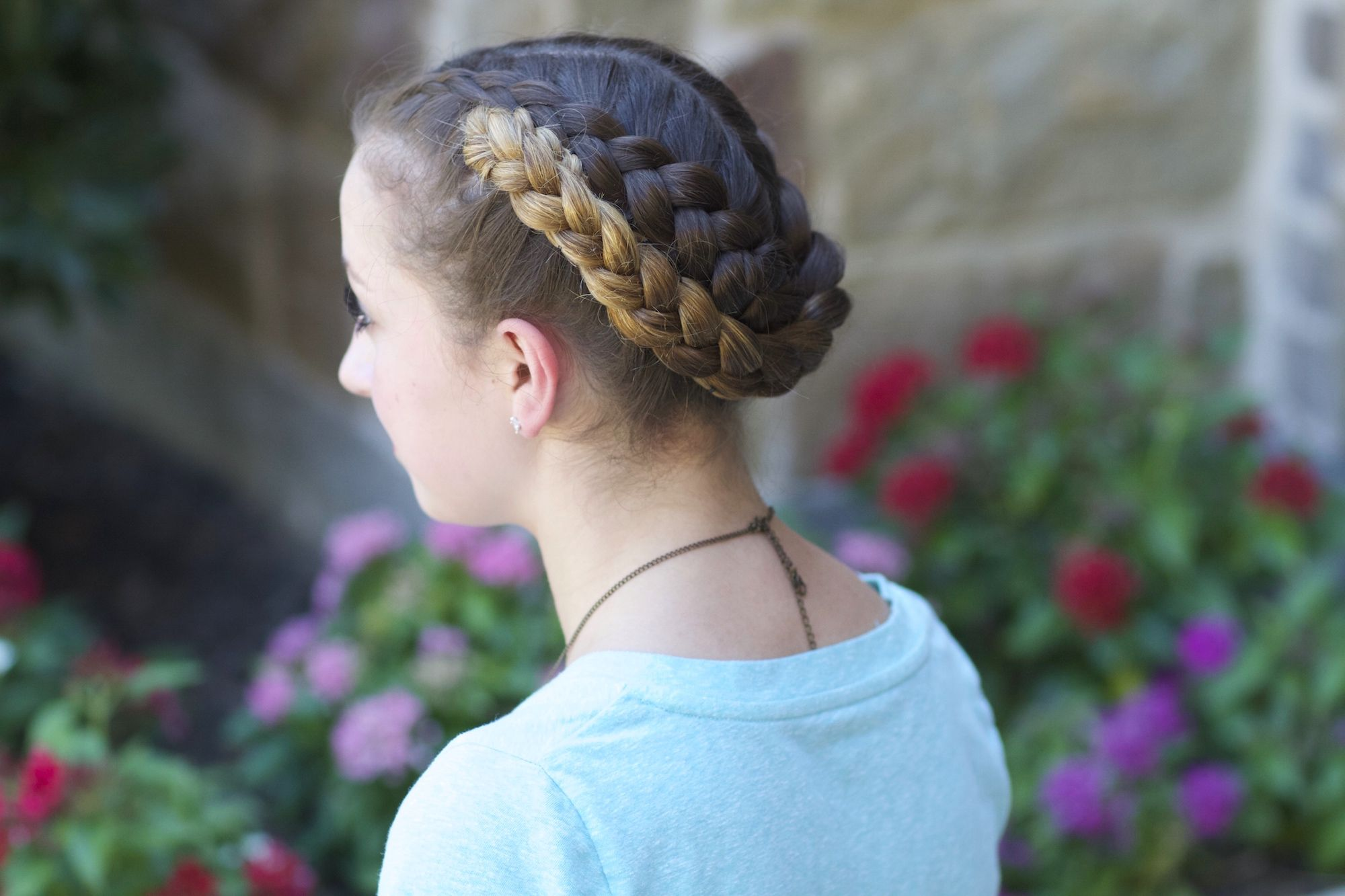 Easy foldup braids hairstyles ideas pinterest school