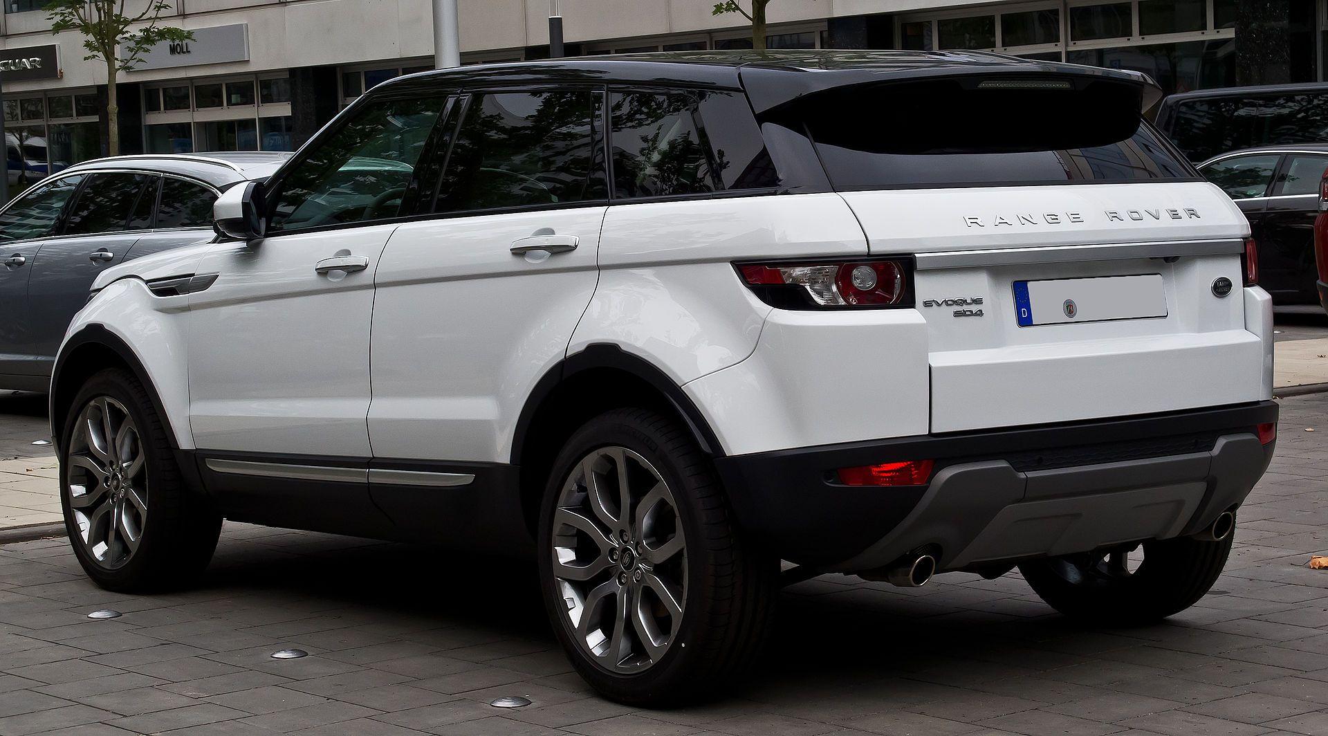 Range Rover Evoque Sd4 4wd Prestige Heckansicht 12 Juli 2014