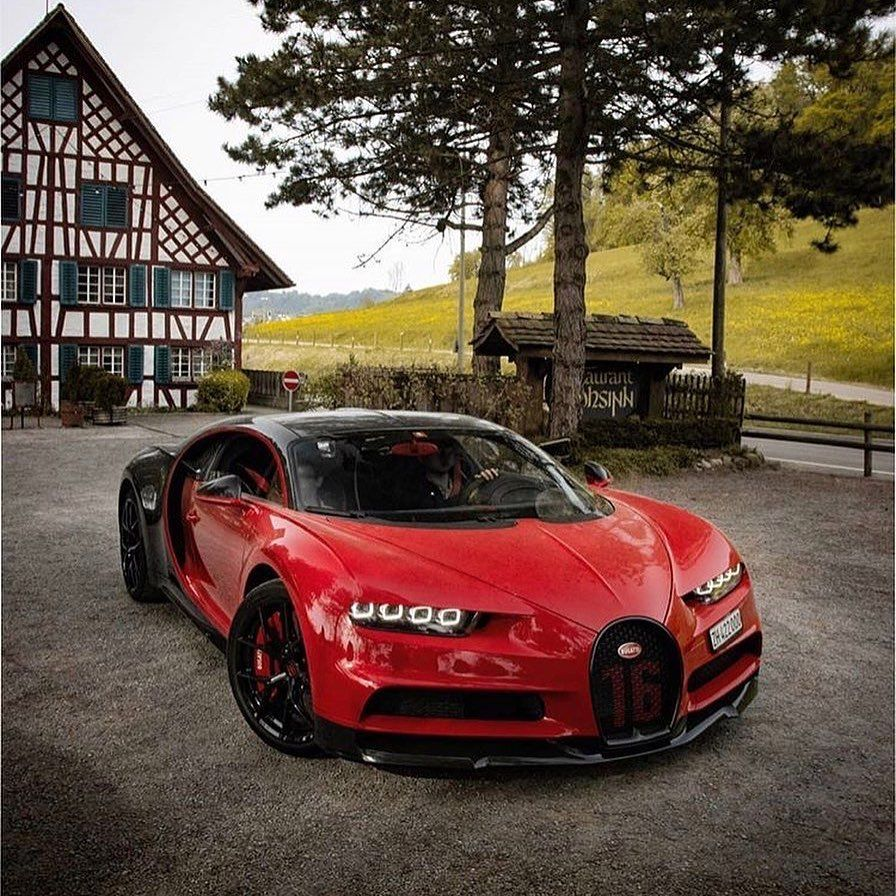 Thecarsupplier S Instagram Photo Bugatti Chiron In Red And Black Opinions Follow The Carsupplier Photo Bugatti Chiron Bugatti Subaru Cars