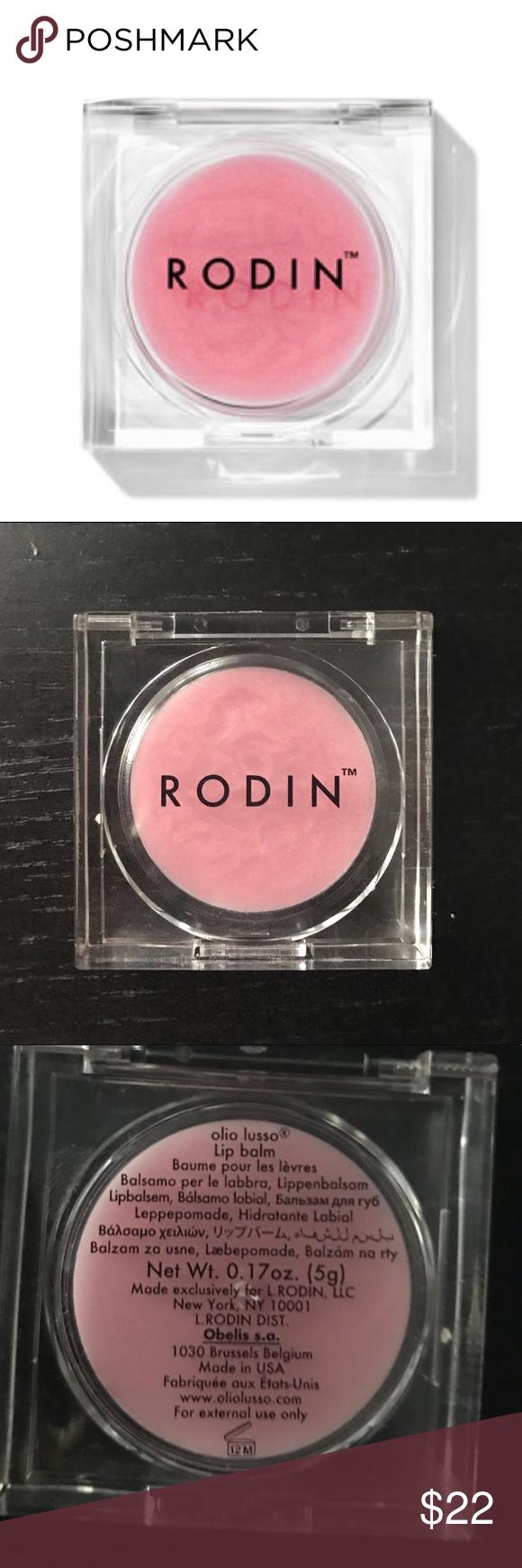 Rodin Lip Balm 0.17 oz. 5 In 1 Derma Roller Dermaroller Micro Needle Body Facial Skin Rejuvenation Health Care Kit Anti-Aging Tool, White