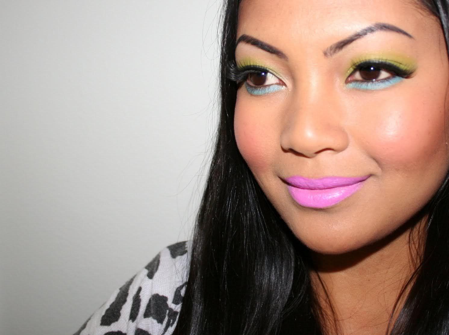 Face4Less Nicki Minaj MAC Viva Glam lipstick inspired