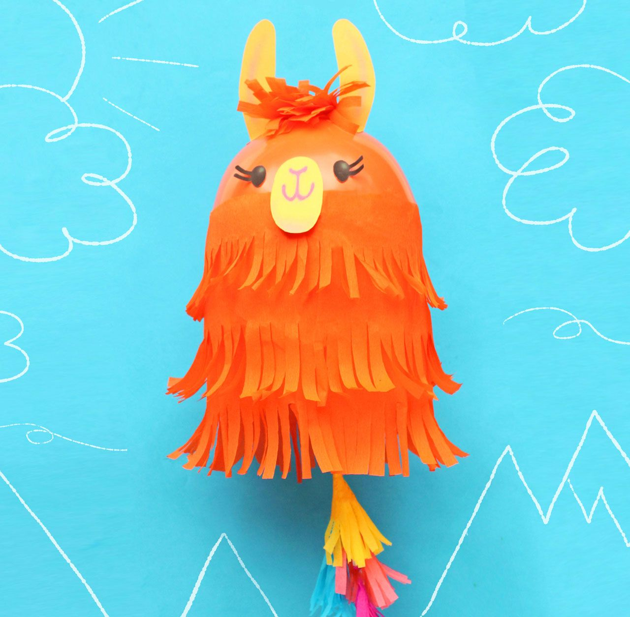 Llama Balloon Craft Make With These Lovely Llamas