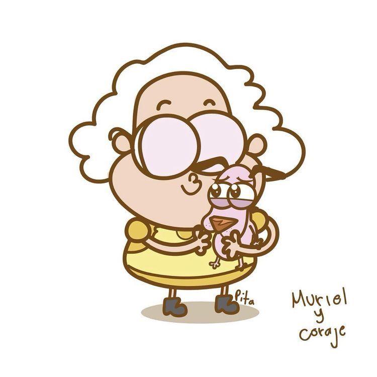 Pin De Candida Colombo En Michelle Caricaturas Viejas Coraje El Perro Cobarde Dibujos Garabateados