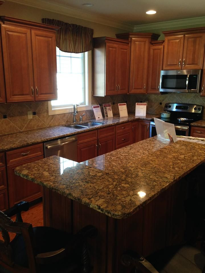 2014 Knoxville Parade Of Homes Giallo Fiorito By Ksi In Brandywine At Turkey Creek Kitchen