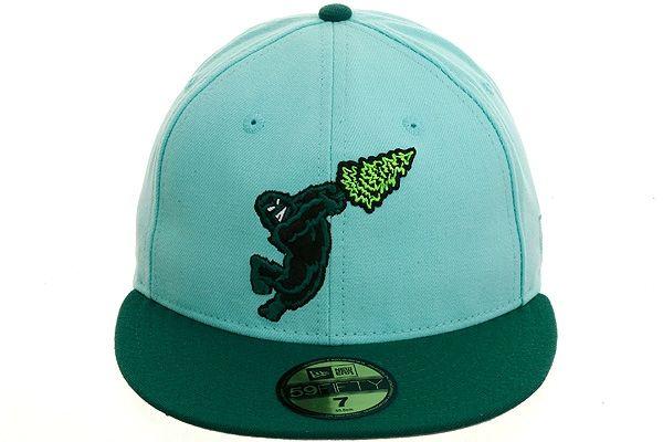 najlepsza strona internetowa najlepszy wybór fantastyczne oszczędności New Era 2Tone Eugene Emeralds Fitted Hat - Mint, Green ...