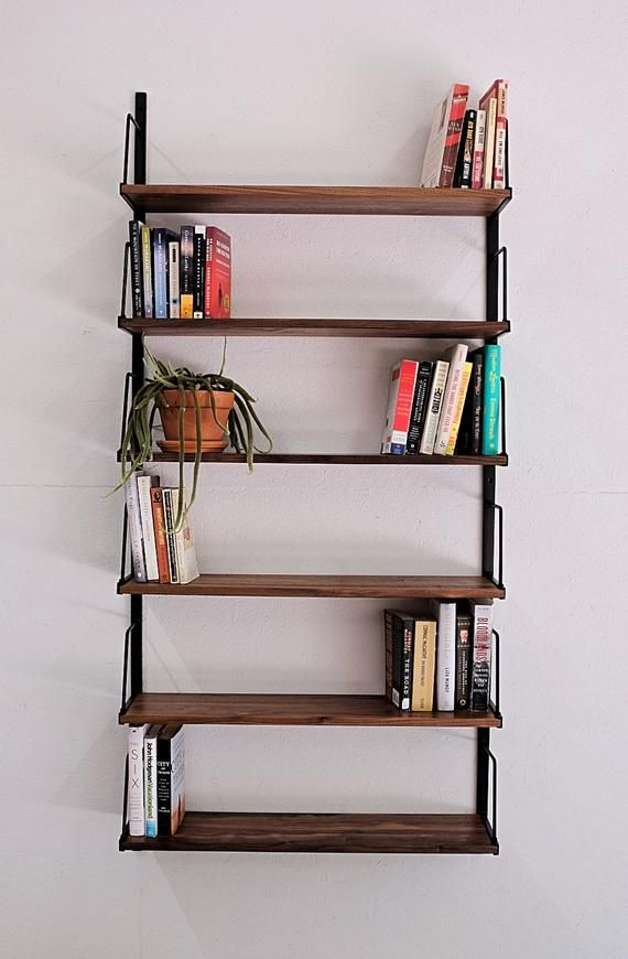 custom wall mounted bookshelf in 2020 wall mounted on wall mount bookshelf id=53037